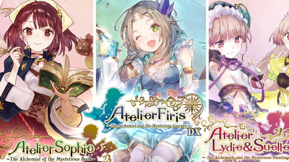 Nintendo Download   Atelier Myster Trilogy