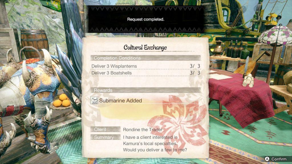 Cultural Exchange in Monster Hunter Rise Complete