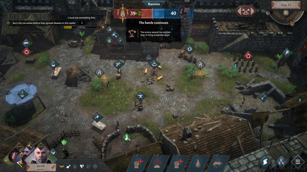 Siege Survival: Gloria Victis Banner