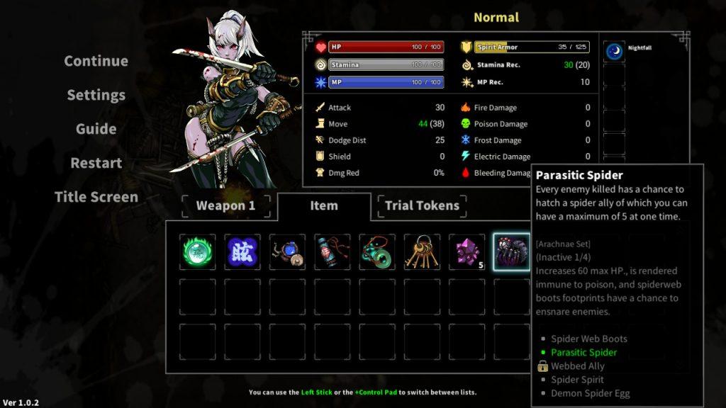 Devil Slayer Raksasi   Inventory