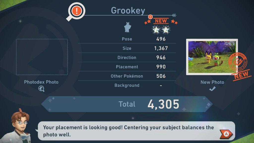 New Pokemon Snap | Score