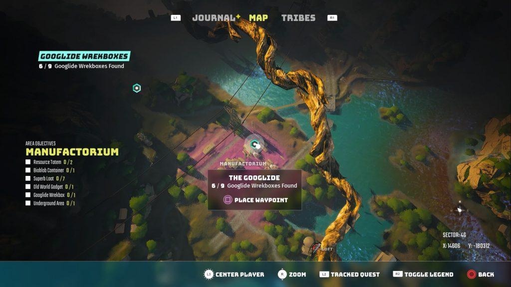 Googlide Wreckbox Locations