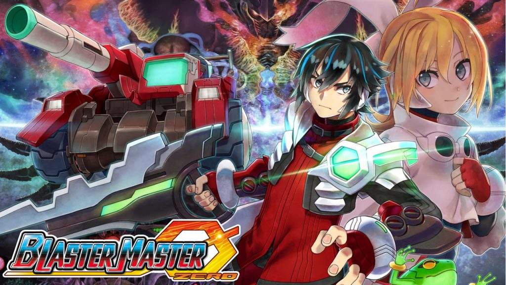 Blaster Master Zero 1 | Logo