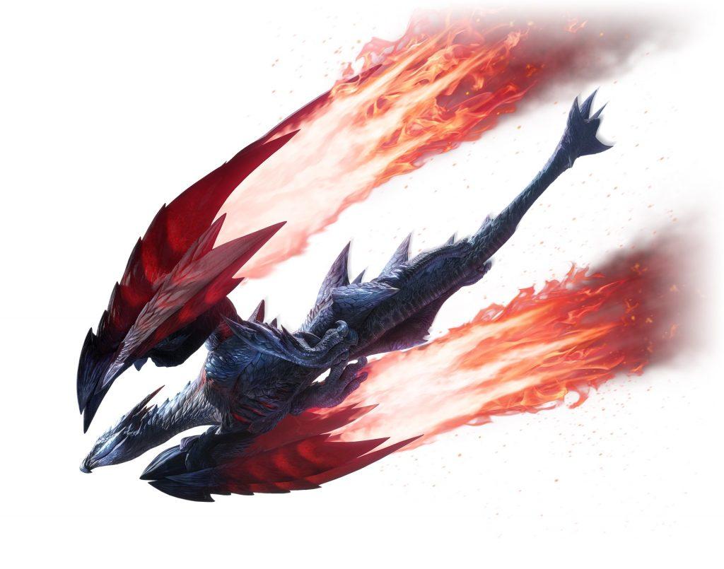 Crimson Glow Valstrax Monster Hunter Rise Version 3.0