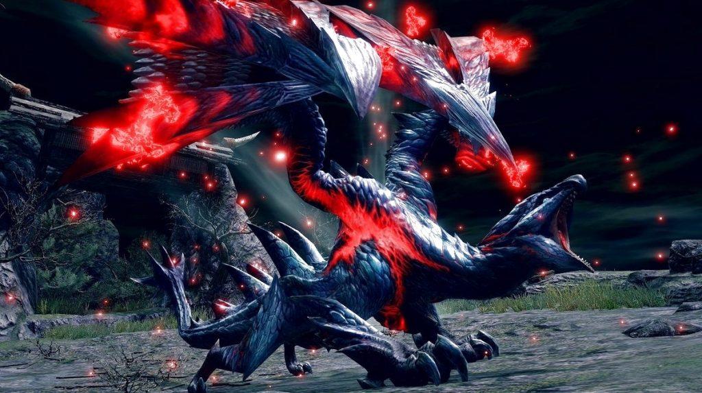 Crimson Glow Valstrax Monster Hunter Rise 3.0