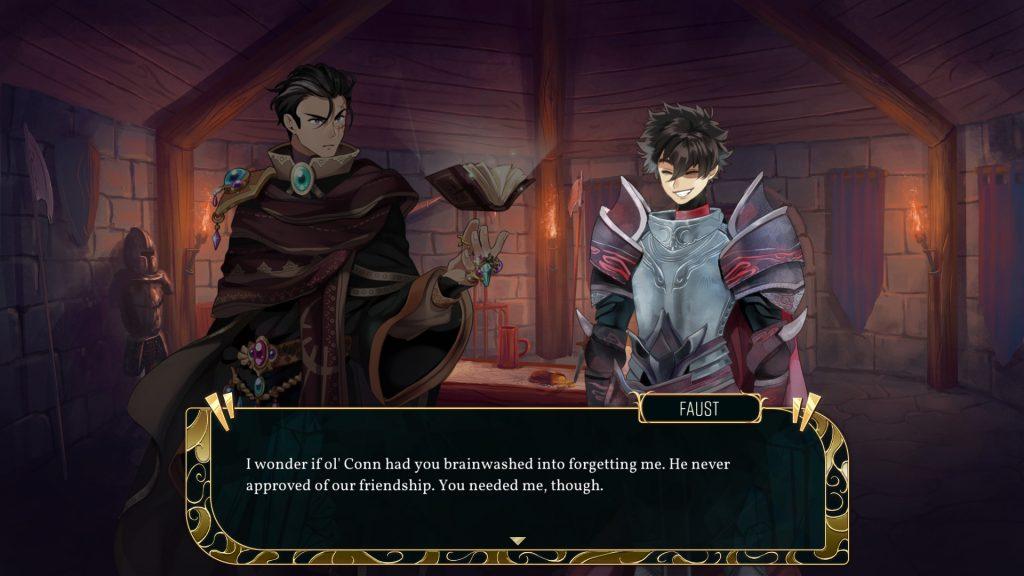 Dark Deity Review   Faust