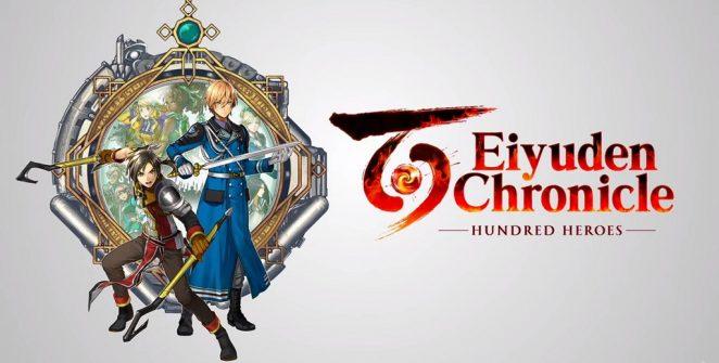 Eiyuden Chronicle   Hundred Heroes Title