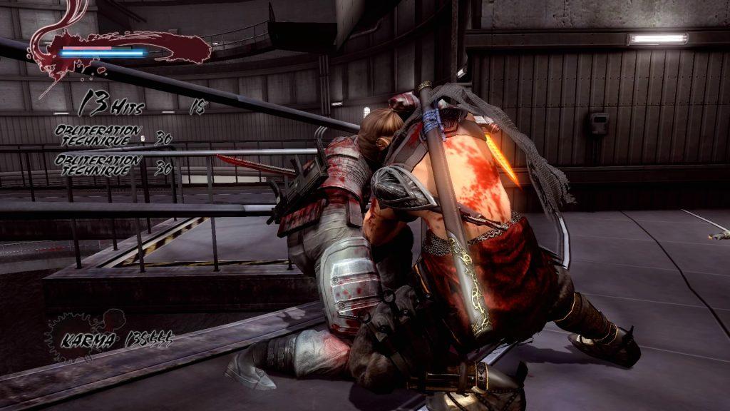 Ninja Gaiden: Master Collection   Violent