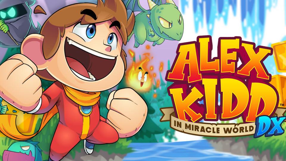 Nintendo Download   Alex Kidd in Miracle World DX