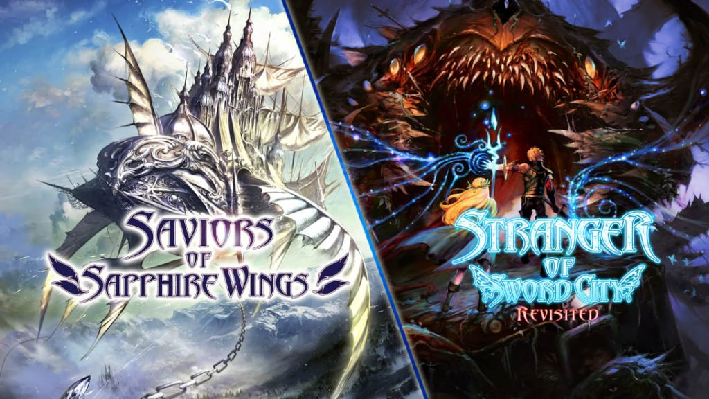Saviors of Sapphire Wings / Stranger of Sword City Revisited Banner