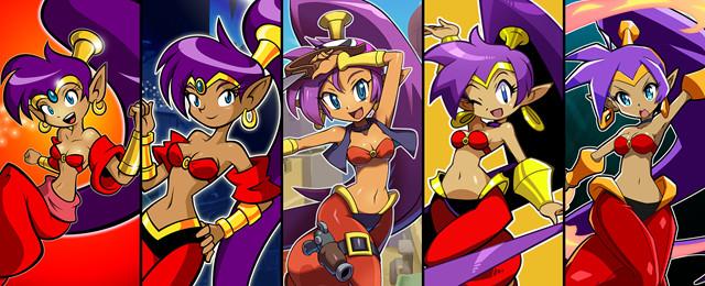 Shantae All 5 Logo