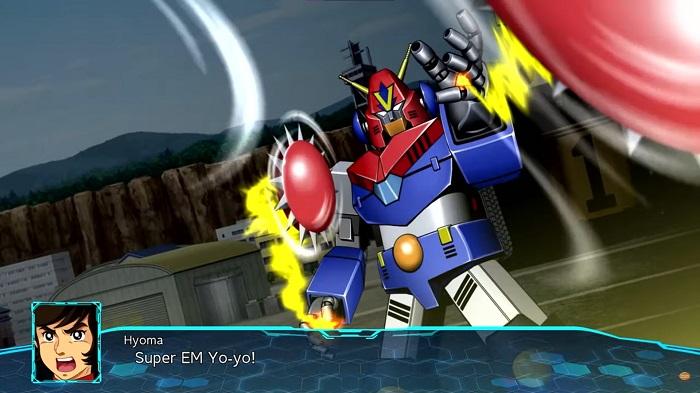 Super Robot Wars 30 | Super EM Yo-yo from Combattler V