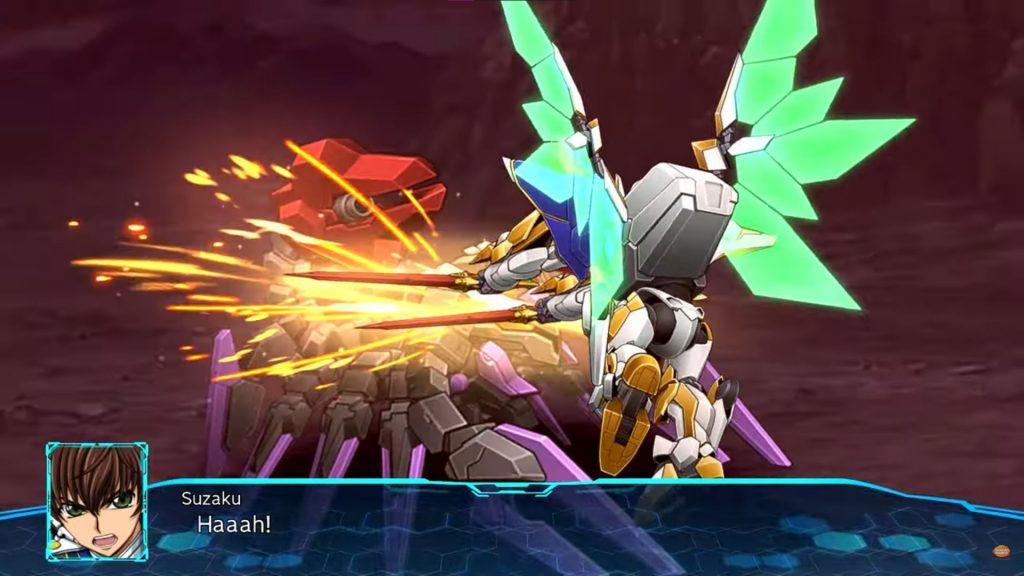 Super Robot Wars 30 | Suzaku from Code Geass