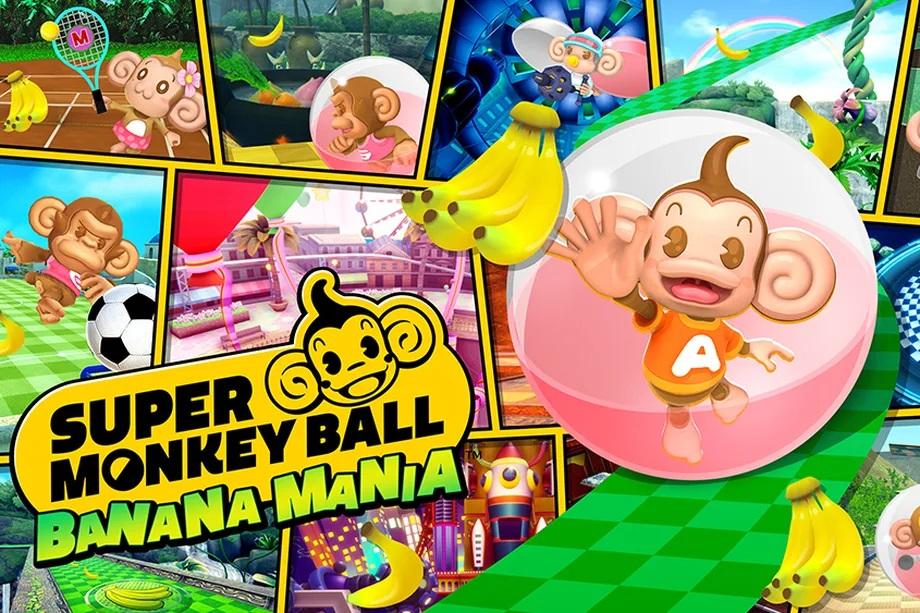 Super Monkey Ball Banana Mania Banner