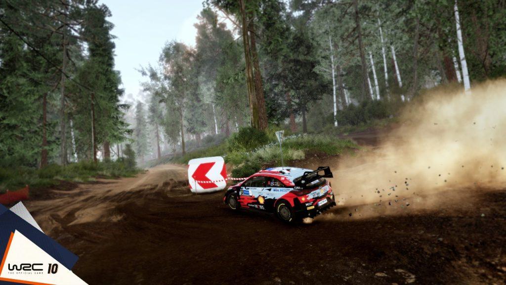 WRC 10 Preview build