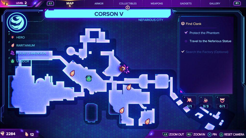 Corson V Pocket Dimension location