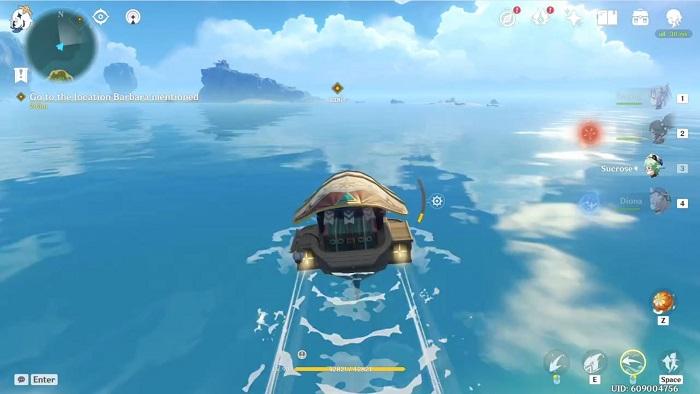 Genshin Impact, Midsummer Island Adventure, Act III, first location