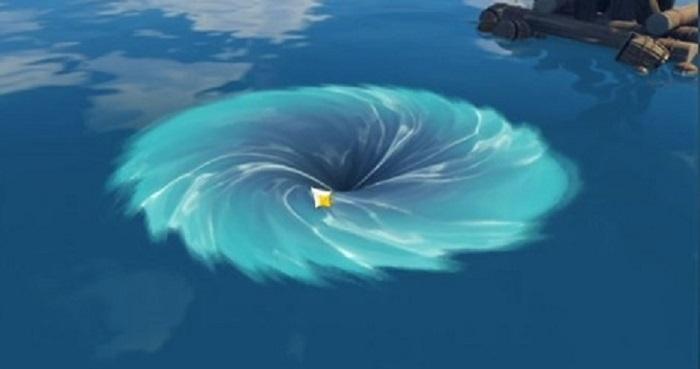 Midsummer Island whirlpool