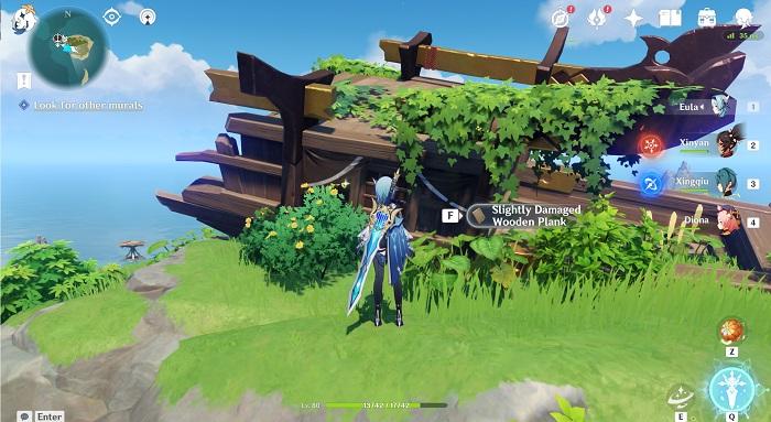 Genshin Impact, ship wreckage, guide
