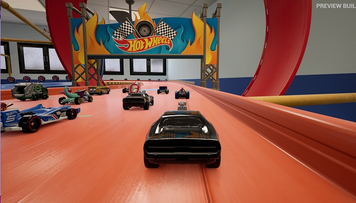 Hot Wheels Unleashed, starting line