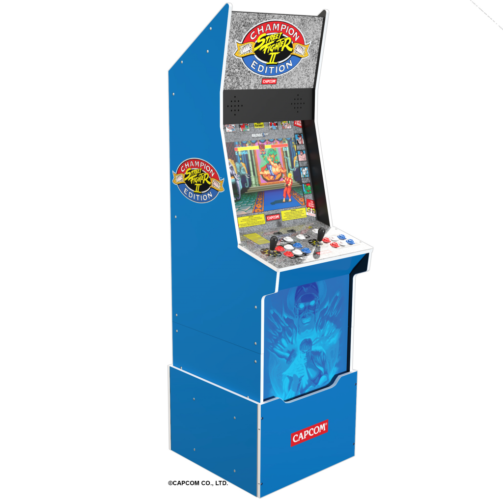 Arcade1up Turtles In Time, Street Fighter Big Blue