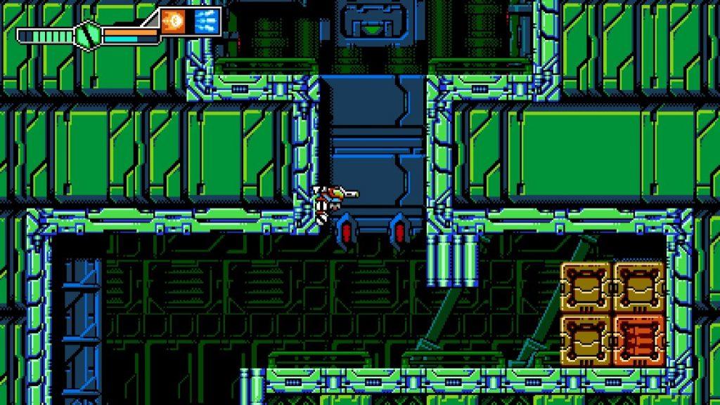 Blaster Master Zero 3 | Wall Cling