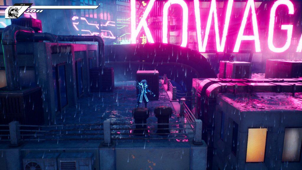 Blind Fate | Cyberpunk City