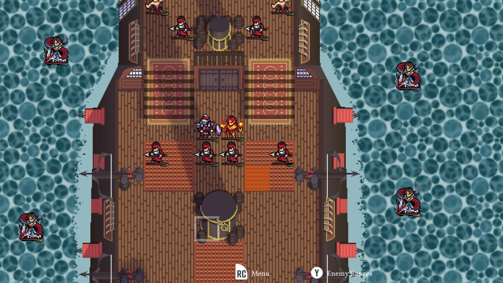 Dark Deity Review   Boat Battle
