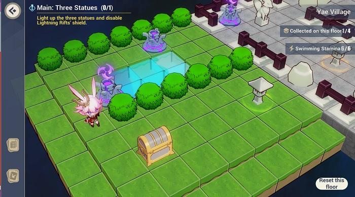 proposal 2 village, luxurious chest