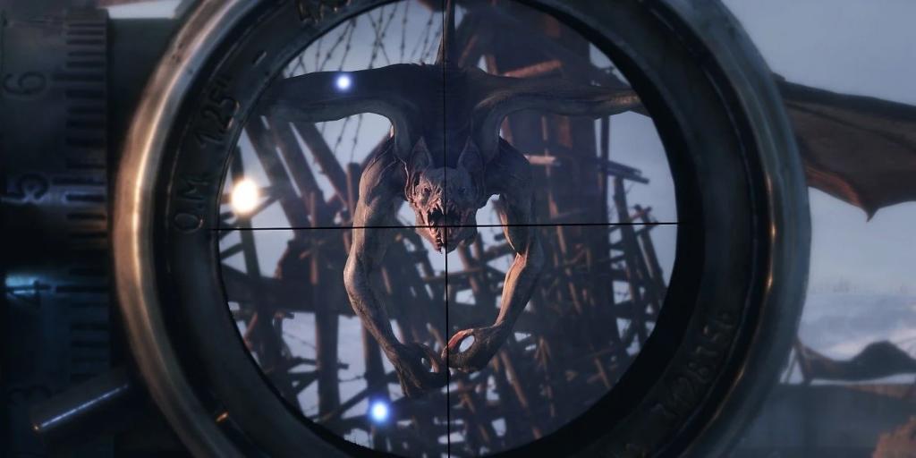 Demon in the crosshairs, Metro Exodus