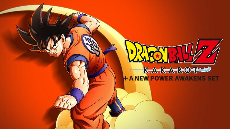 Dragon Ball Z: Kakarot + A New Power Awakens Set Banner