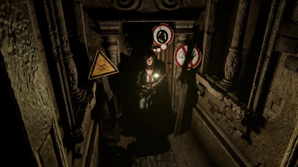 Tormented Souls endless door puzzle