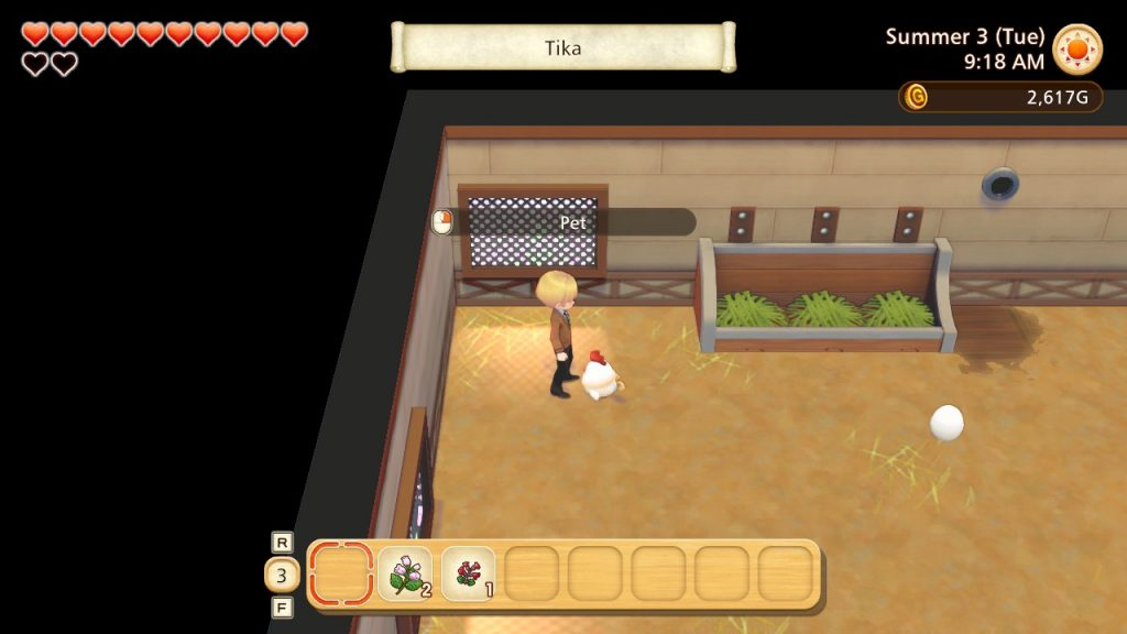 Story of Seasons: Pioneers of Olive Town Review Picture 3 - Chicken