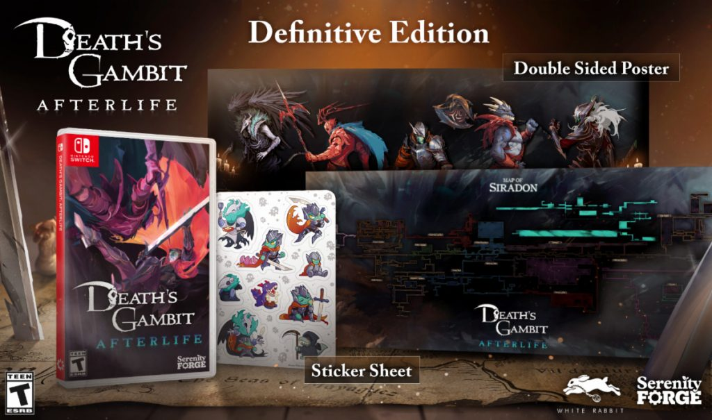 Death's Gambit: Afterlife   Physical