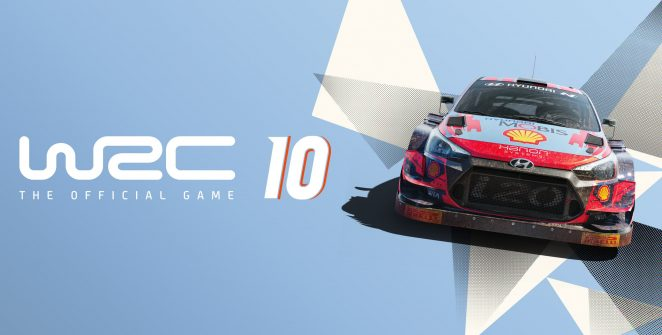WRC 10 Banner