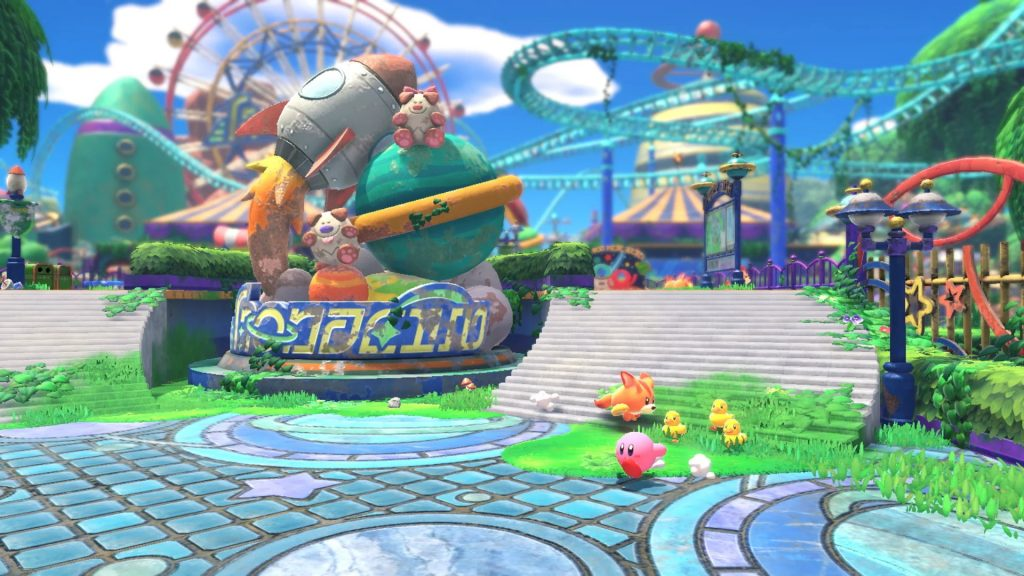 Kirby and the Forgotten Land | Theme Park