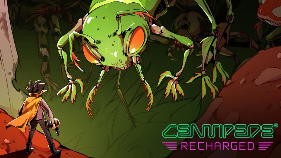 Nintendo Download | Centipede Recharged