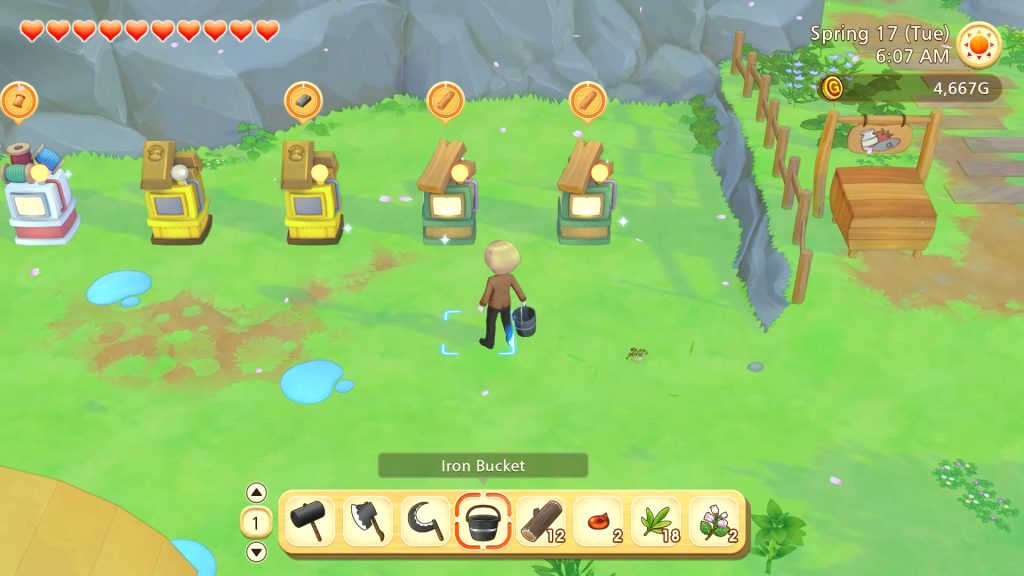 Story of Seasons: Pioneers of Olive Town Review Picture 4 - Crafting