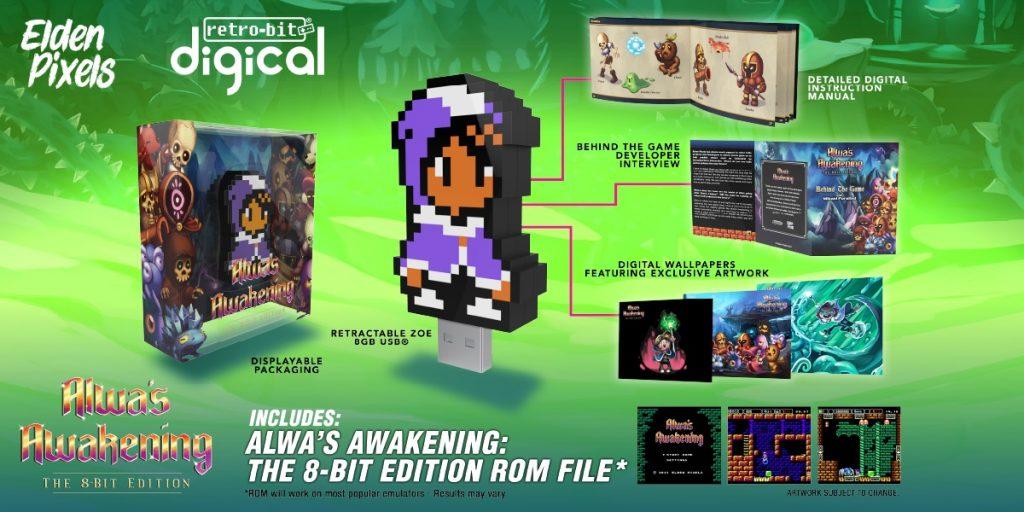 Alwa's Awakening the 8-Bit Edition