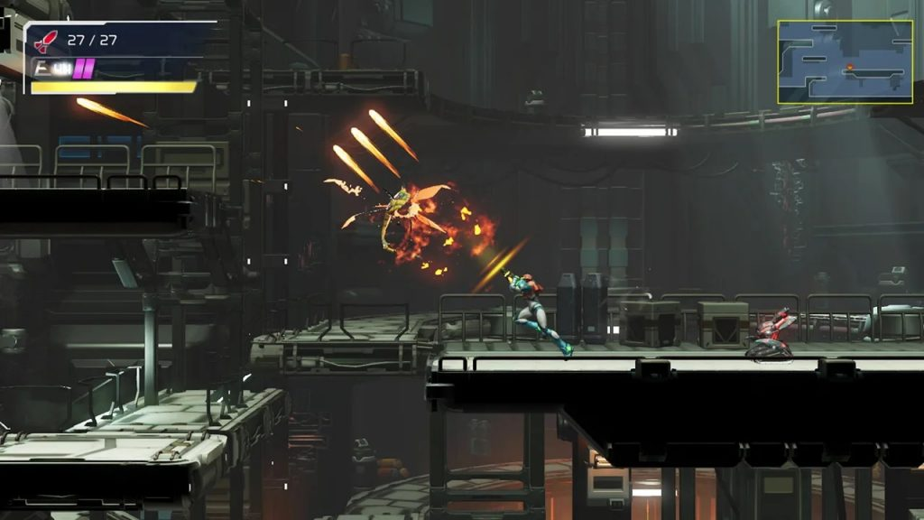 Metroid Dread review wide shot