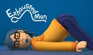 exhausted man game